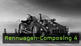Bild-Composing, CGI, Photoshop, Cinema 4D, Extrude-NURBS