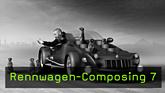 Bild-Composing, CGI, Cinema 4D, Boole, Symmetrie-Objekt