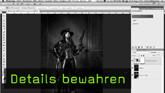 Details in Photoshop retten, Warnfunktion Tiefen und Lichter