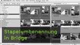 Stapelumbenennung in Bridge