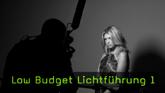 Low Budget Portraitshooting, Portrait mit Schreibtischlampen