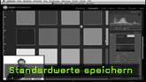 Lightroom Standardwerte