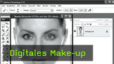 Calvin Hollywood Photoshop Make-Up, Retusche Photoshop