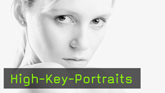 high key portraitfotografie und photoshop retusche