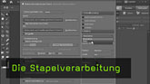 Stapelverarbeitung, Phtoshop Elements