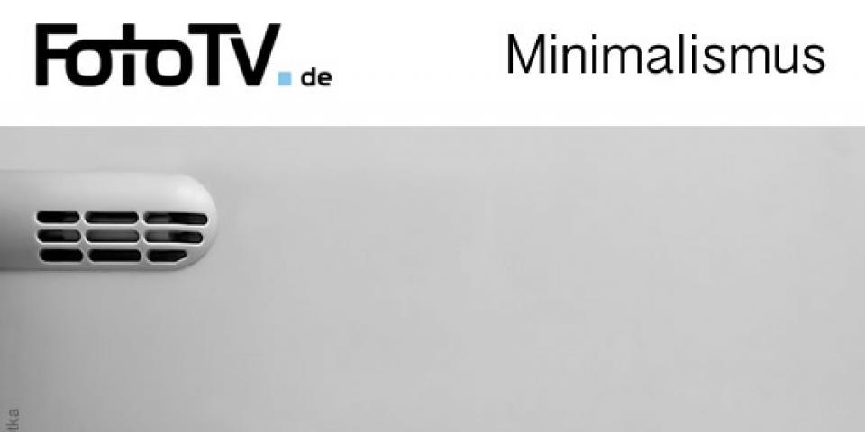 Thema minimalismus fotowettbewerb von fototv und der for Blog minimalismus