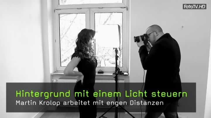 video hintergrundhelligkeit steuern mit nur einem licht. Black Bedroom Furniture Sets. Home Design Ideas