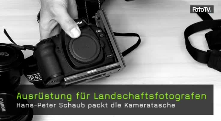Ausrüstung für Landschaftsfotografen