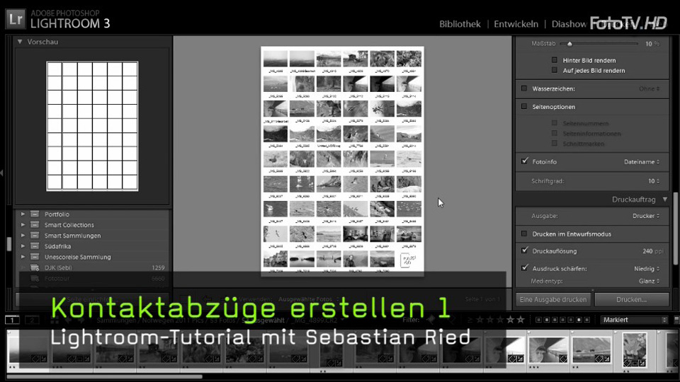 video kontaktabz ge in lightroom erstellen. Black Bedroom Furniture Sets. Home Design Ideas