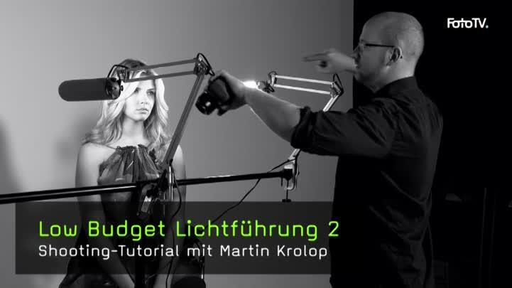 Low Budget Lichtführung Portraitfotografie mit Schreibtischlampen