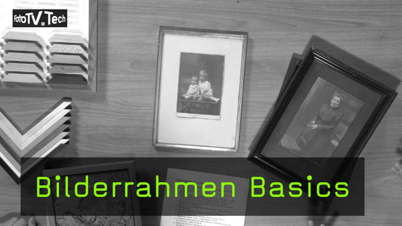 Video: Bilderrahmen Basics