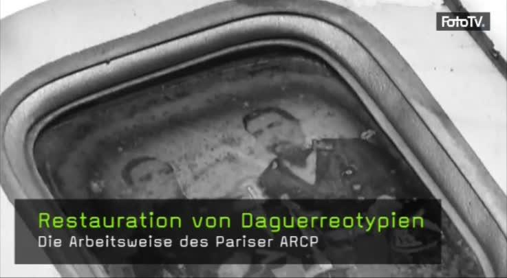 Daguerreotypien restaurieren