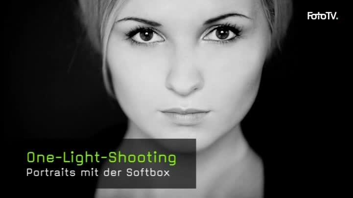 Portraits mit einer Softbox