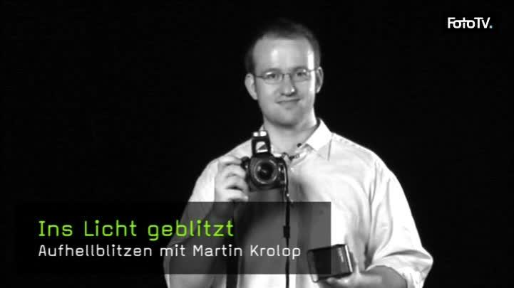 Aufhellblitzen mit Martin Krolop