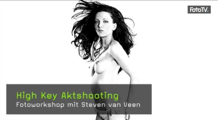 High Key Akt, Aktfotografie Workshop, Steven van Veen, Highkey