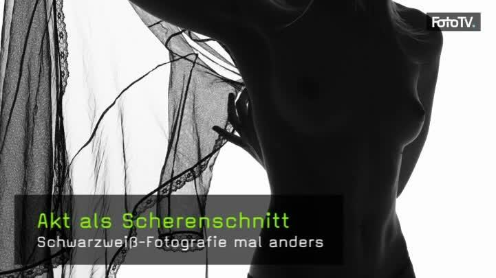 Aktfotografie Silhouette Lichtaufbau