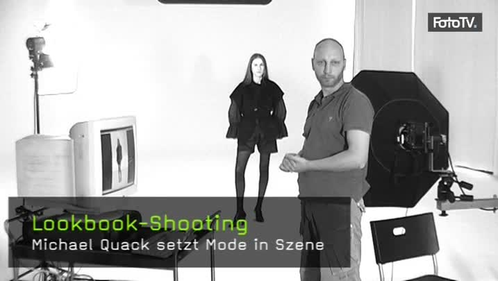 Lookbook-Shooting, Modekollektion fotografieren