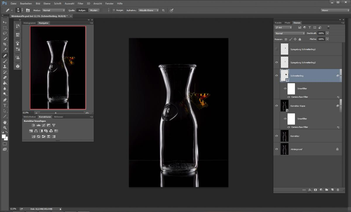 Finetuning in Photoshop