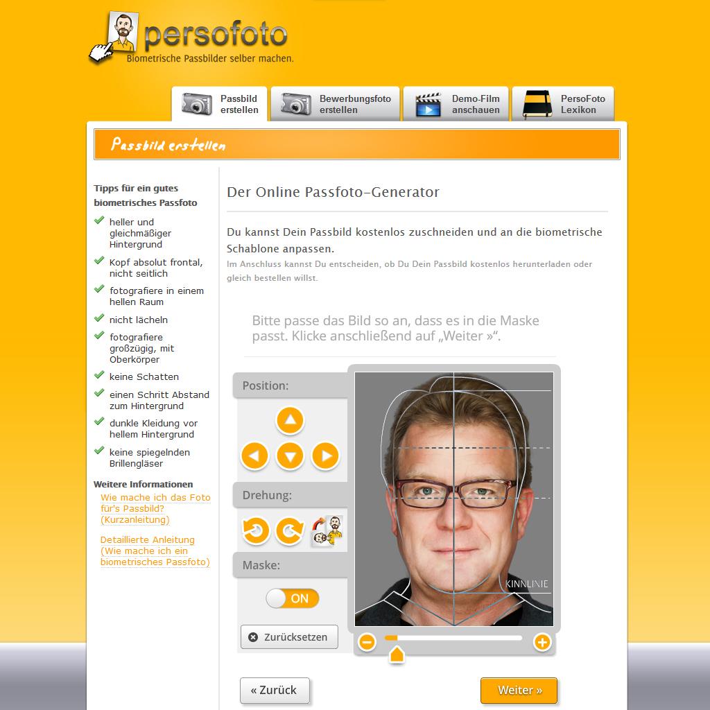 Biometrische Passbilder leicht gemacht | FotoTV.