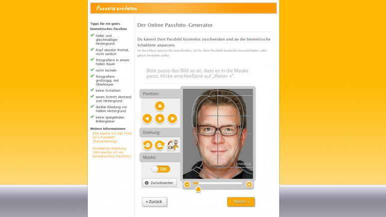 Biometrische Passfotos leicht gemacht