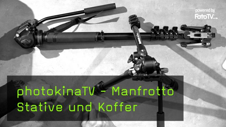 Manfrotto Stative und Koffer