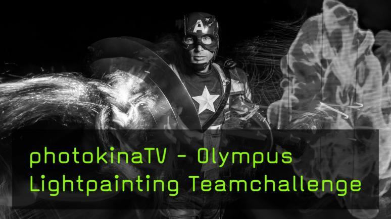 Olympus Lightpainting Teamchallenge