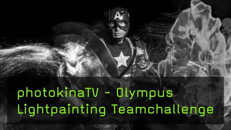 Olympus Lightpainting Teamchallenge