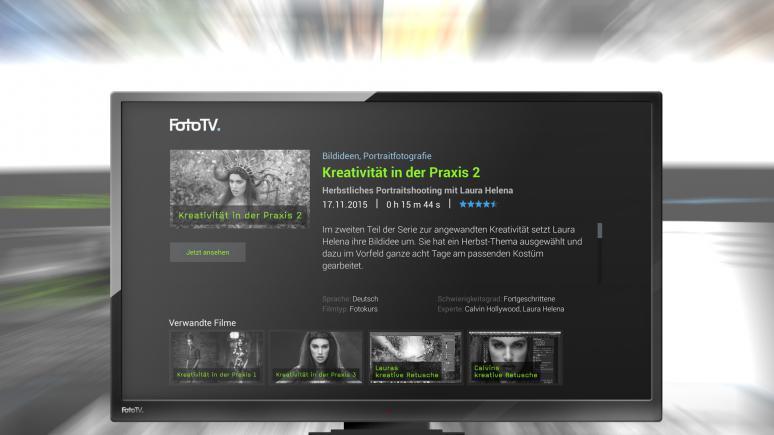 FotoTV. App für Fire TV