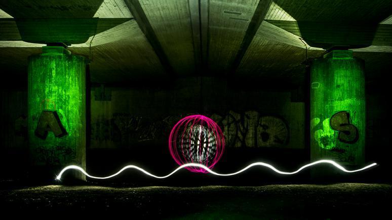 Grundformen und Werkzeuge für Lightpainting