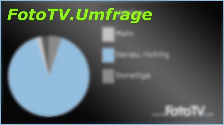 FotroTV. Umfrage