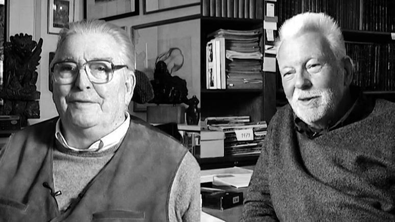 Horst Faas und Bob Lebeck im FotoTV. Interview