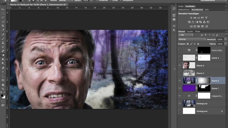 Anleitung Photoshop-Composing - Schritt für Schritt