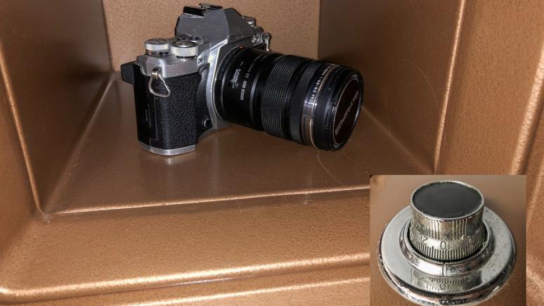 Wie sicher ist die Kameraausrüstung zu Hause?