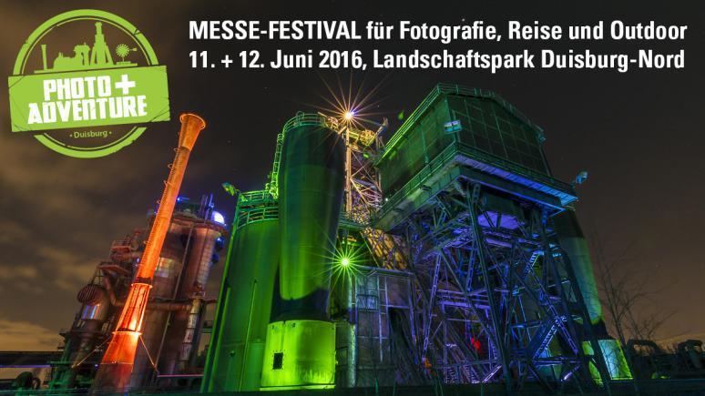 Photo + Adventure: 11.12. Juni 2016, Landschaftspark Duisburg Nord