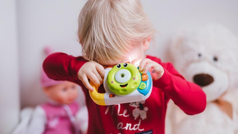 Kinder für die Fotografie begeistern