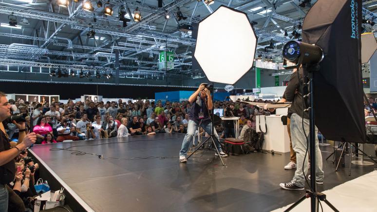 Die Fashion Team Challenge auf der photokina
