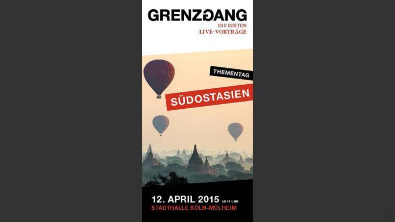 Live-Reportagen beim Südostasientag von grenzgang - 12. April 2015, Köln