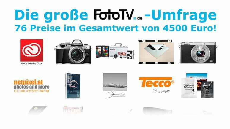 Die große FotoTV. Umfrage und Verlosung