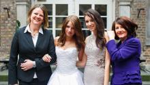 Liliane, Statistinnen,  Cochic Photography, Posing für Hochzeitsgruppen, Tipps mit Andreas Kowacsik