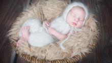 Erstes Ergebnisbild Baby im Korb