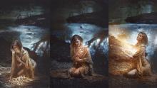 Photoshop-Tutorial für ein magisches Triptychon