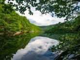 Landschaftsfotografie, Naturpark Eifel, Rursee, Spiegelung, Polfilter