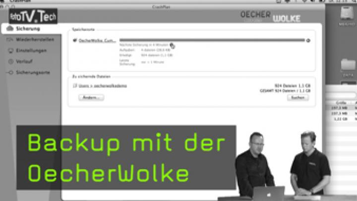 Backup mit der OecherWolke