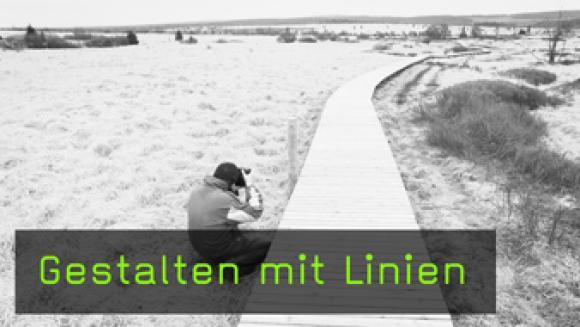 Linien in der Bildgestaltung, Gestalten mit Linien