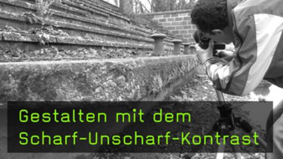 Scharf-Unscharf-Kontrast in der Fotografie