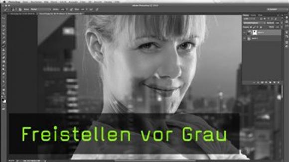 Graufreistellung in Photoshop