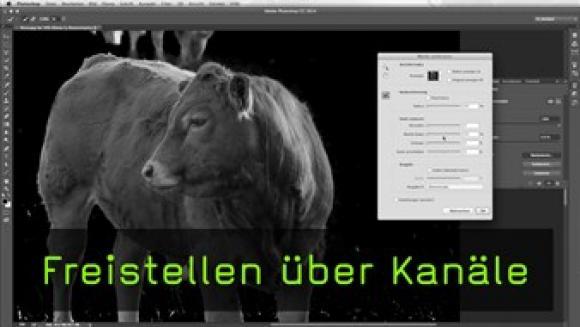 Kanäle in Photoshop