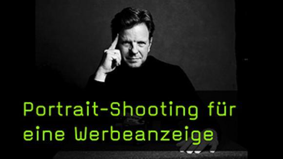 Portraits für Werbung fotografieren