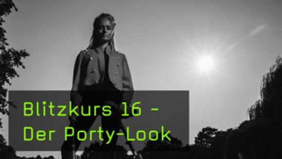 Den Porty-Look richtig fotografieren lernen