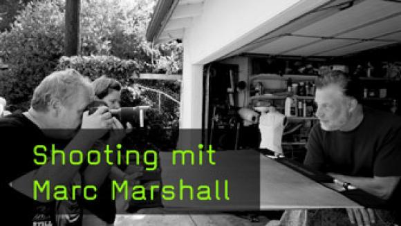 Musiker Marc Marshall portraitieren